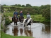 Riding at Delford Birdge, Bodmin Moor