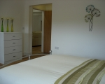 Doube bedroom, self catering cottage Cornwall