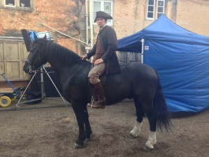 horse and rider poldark