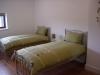 Twin bedroom with en suite self catering accommodation