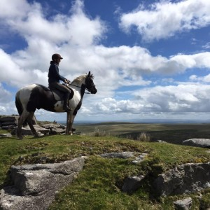 Fantastic views on our experienced rider hacks